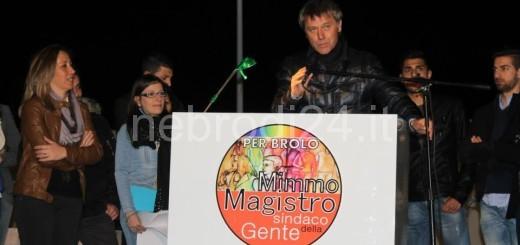 comizio piazza roma del 17 05 2014