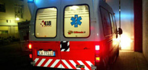 Grave incidente automobilistico di Alba Parietti