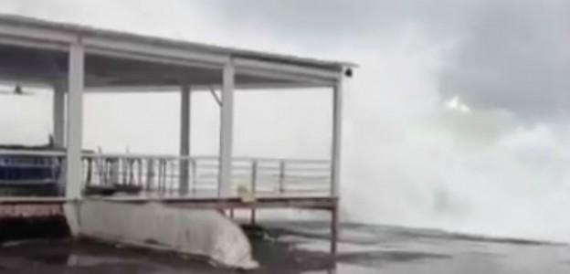 sicilia – forte vento e mare mosso, eolie isolate e disaggi sulle autostrade
