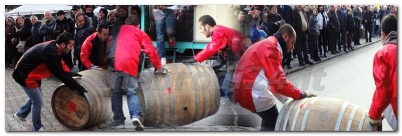 castell'umberto – oggi e domani il palio di san martino con la corsa delle botti