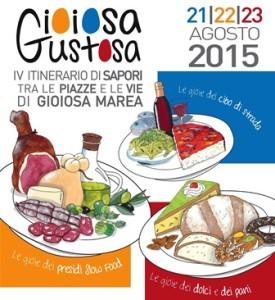LOCANDINA GIOIOSA GUSTOSA2015