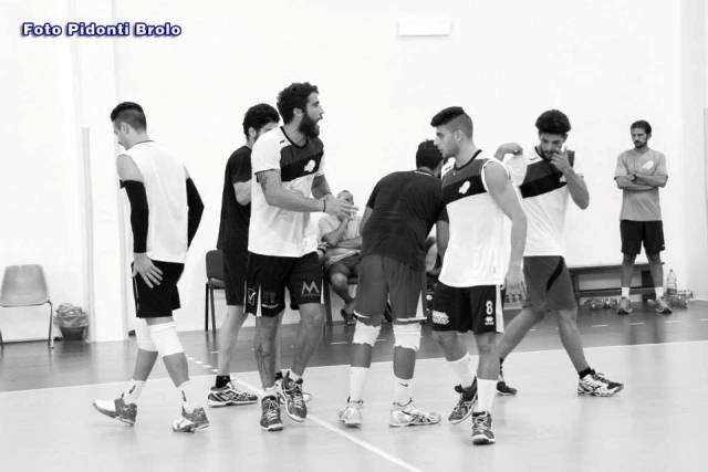 la preparazione dell'ancona & palmizio volley brolo, prosegue a spron battuto