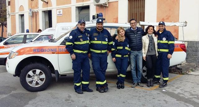 brolo protezione civile vice sindaco e consigliere Raffaele