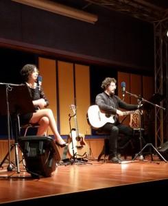 Oriana Civile e Ciccio Piras all'auditorium Rai di Palermo