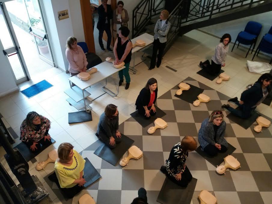 Brolo Conclusi i corsi del progetto Brolo Cardioprotetta 1