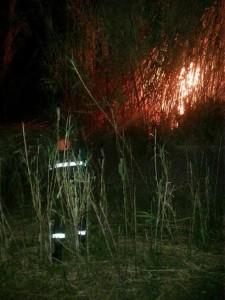 brolo –  un incendio in località malpertuso, spento dalla protezione civile di brolo