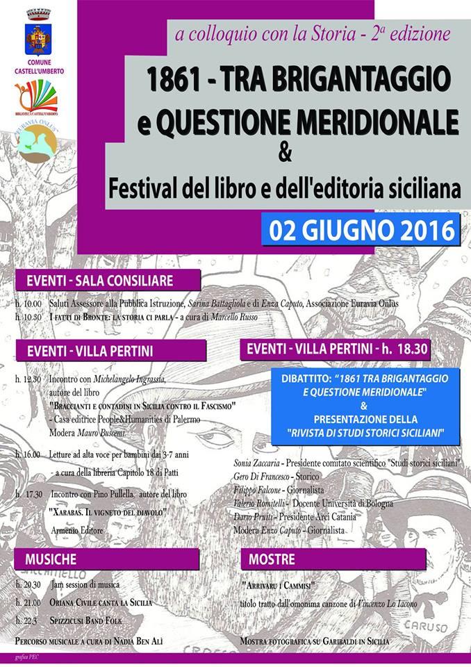 Euravia ONLUSA colloquio con la storia & Festival del libro e dell'editoria siciliana