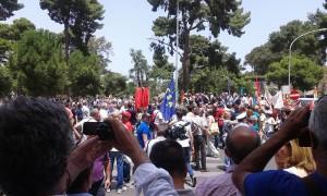manifestazione paleromo precari