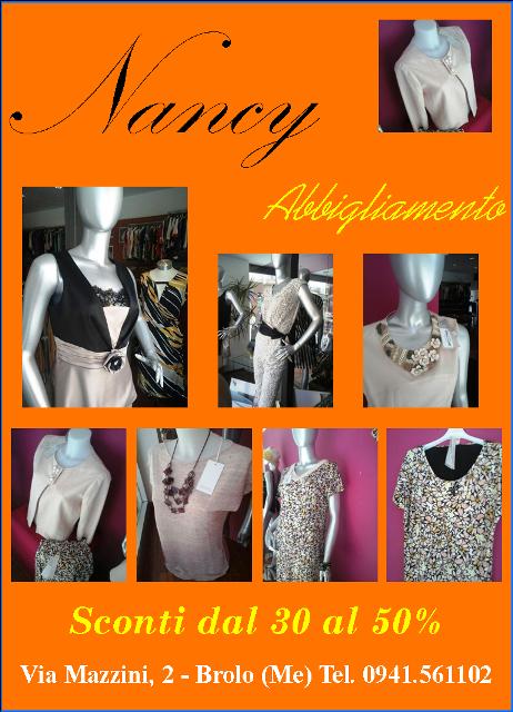 nancy abbigliamento