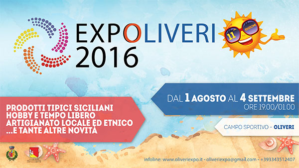 EXPOLIVERI 2016 secondo banner