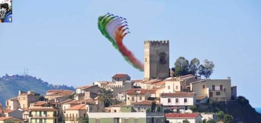 brolo frecce tricolori con castello di brolo