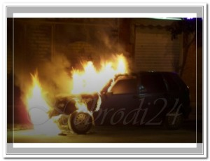 brolo auto bruciate