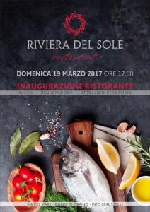 piraino – domani 19 marzo alle 17:00 si inaugura il nuovo ristorante riviera del sole