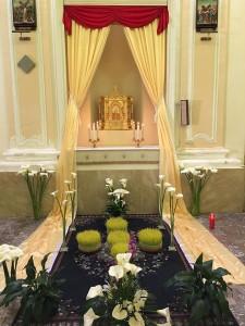 brolo altare chiesa settimana santa