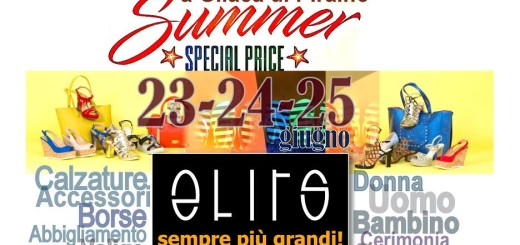 elits promo 23 24 25 giugno 2017