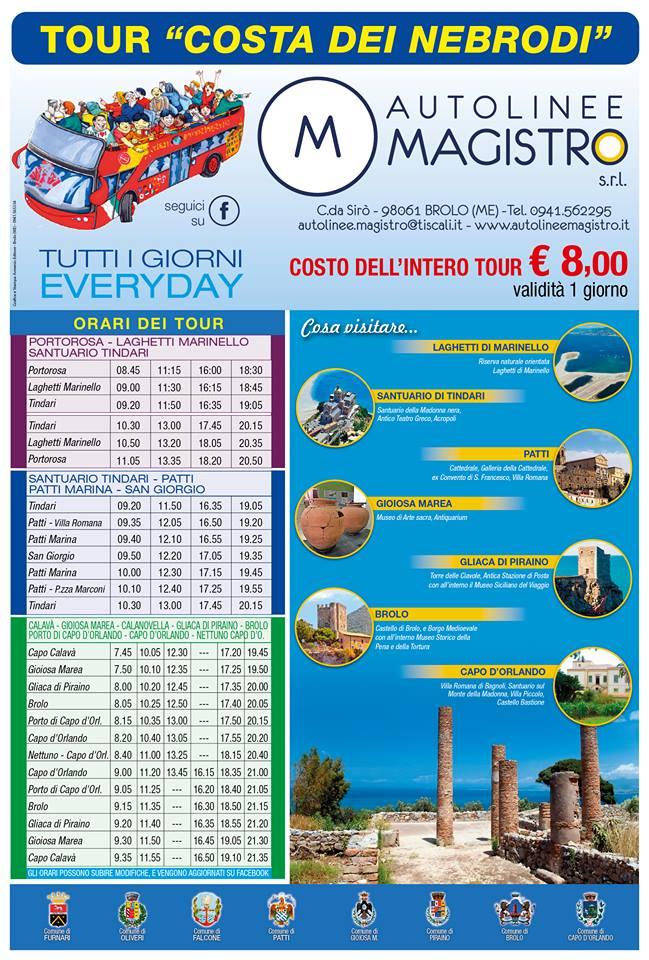 locandina magtour bus turistici