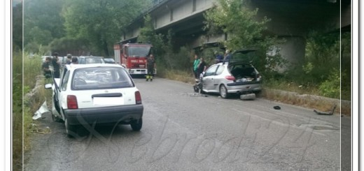 piraino incidente auto scorrevole