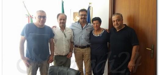 sinagra musca con rappresentanti sindacali