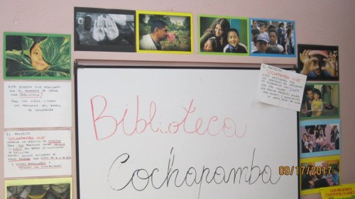 bibblioteca cochapamba