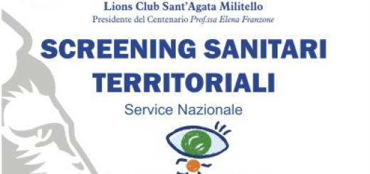 LIONS LOCANDINA SCREENING SANITARI