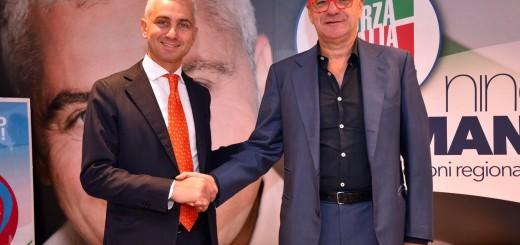 Nino Germanà e Gianfranco Rotondi