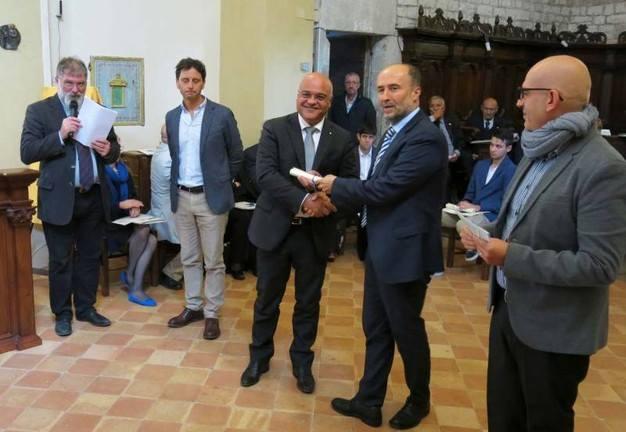 """s.agata militello – a giuseppe antoci il premio nazionale di cultura """"frontino montefeltro"""""""
