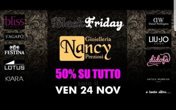 piraino – black friday max sconti anche da nancy preziosi
