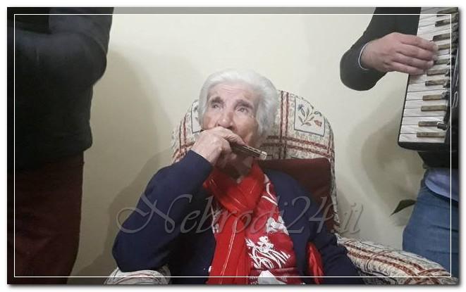 maria giuseppa galati rando festa 100 anni organetto