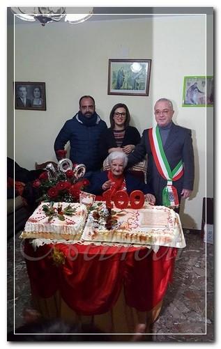 maria giuseppa galati rando festa 100 anni