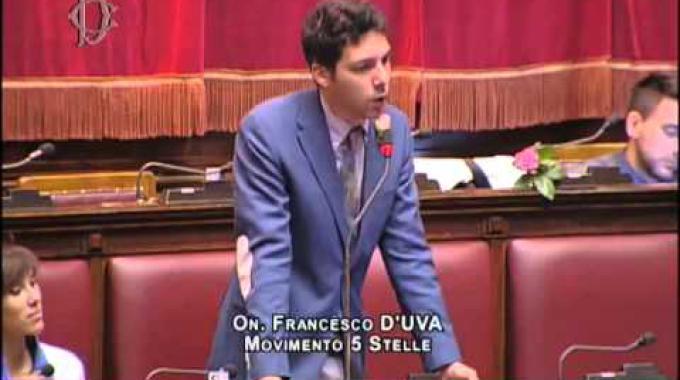 Roma francesco d 39 uva nominato capogruppo del movimento 5 for Movimento 5 stelle camera