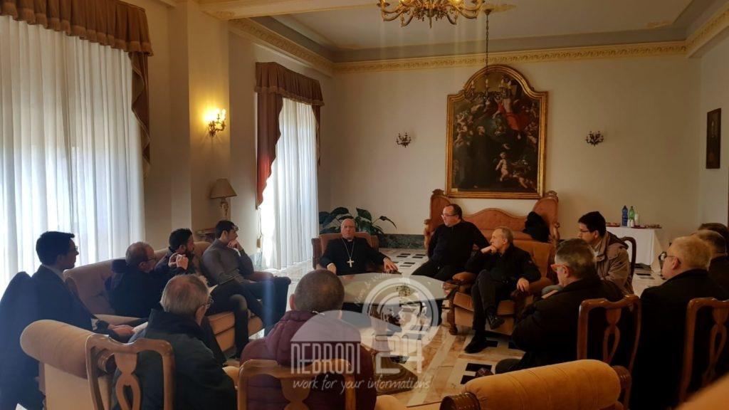 patti – l'intervista al vescovo mons. guglielmo giombanco, dopo l'incontro per gli auguri con i giornalisti