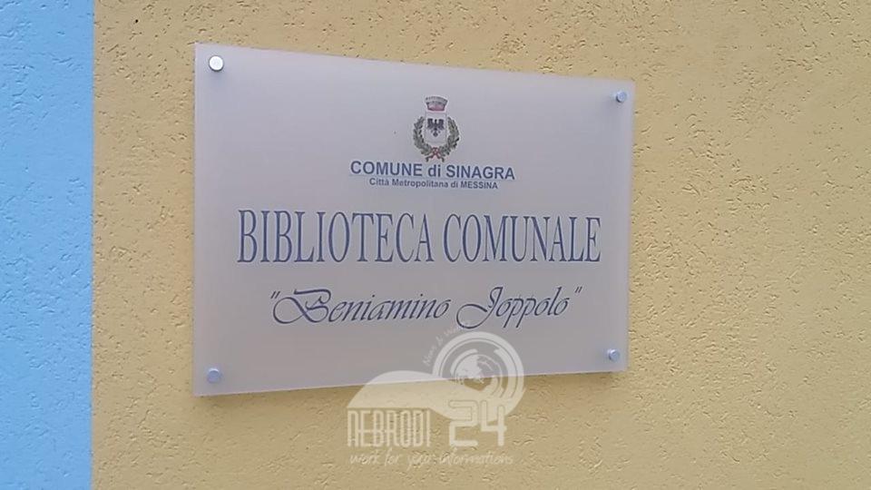 """sinagra – la biblioteca comunale """"beniamino joppolo"""" va  in rete!"""