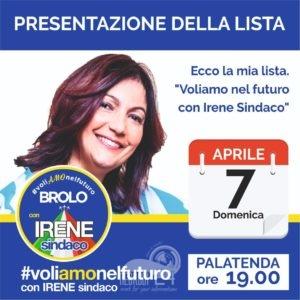 brolo – elezioni 2019: il candidato sindaco irene ricciardello domenica alle 19.00 presenta la lista