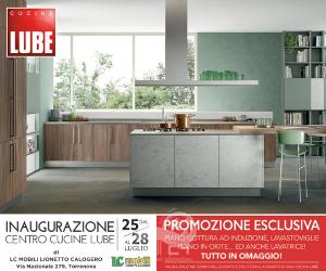 torrenova – dal 25 luglio inaugurazione centro cucine lube presso lc mobili di lionetto calogero