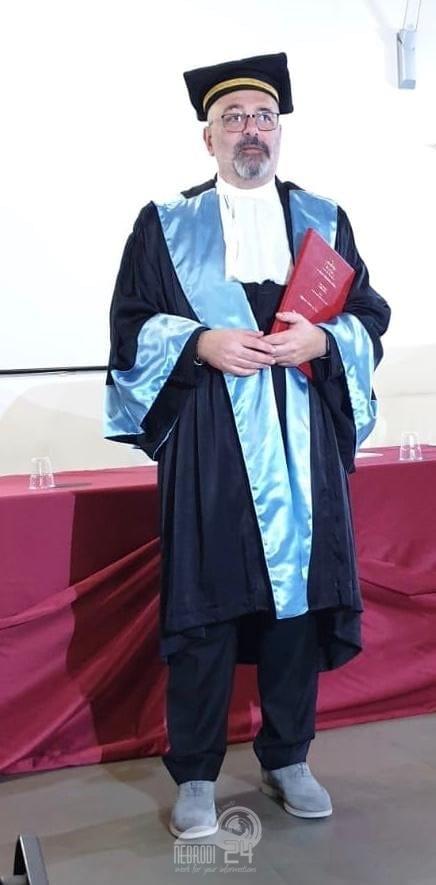 brolo – seconda laurea per il 58enne mimmo bonfiglio, con il voto di 110/110 e lode accademica