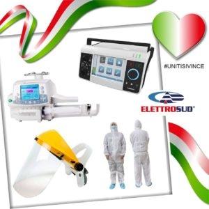 brolo – coronavirus: l'elettrosud dona apparecchi elettromedicali e dispositivi di protezione per i covid hospital