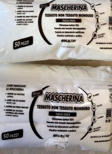 sicilia – il rotary dona 50.000 mascherine chirurgiche e 4.000 mascherine ffp2