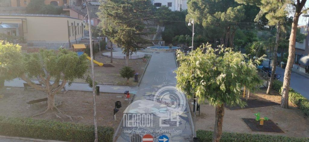brolo – al via il restyling della villa comunale di via dante