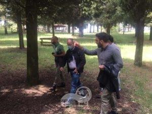 galati mamertino – visita del neo presidente del parco dei nebrodi domenico barbuzza