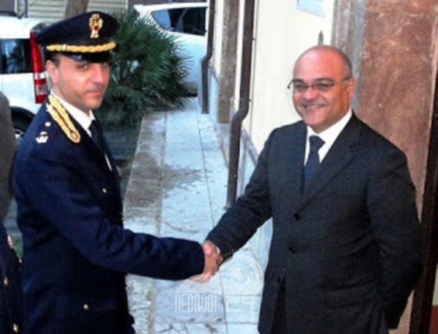 Roma – Gli agenti della scorta di Antoci! Manganaro promosso per merito straordinario