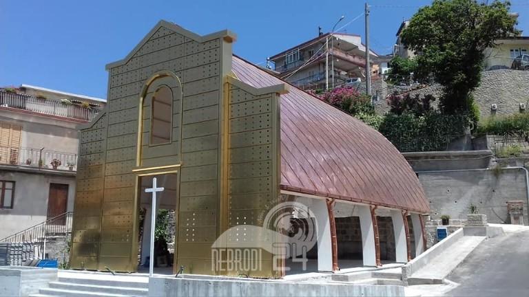 castell'umberto – finanziamento per completare la chiesetta di sfaranda, della santissima annunziata