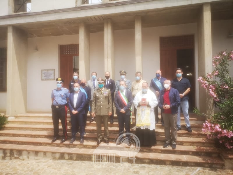 caronia – l'esercito sanifica i locali dell'ente parco