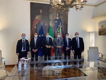 Parco dei Nebrodi – Il Presidente Barbuzza incontra il Presidente della Regione Musumeci