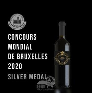 piraino – cantine amato: medaglia d'oro e d'argento al concours mondial de bruxelles