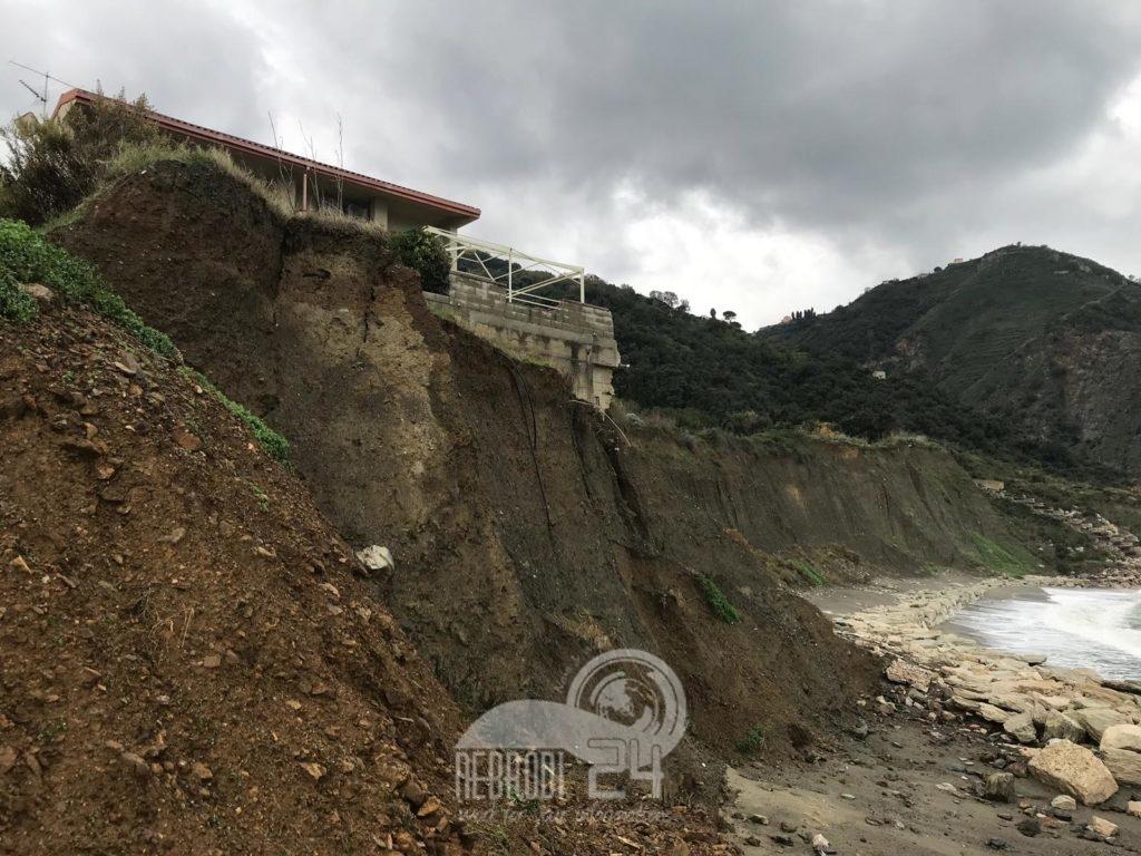 piraino – calanovella: lavori per salvare case e strutture turistiche