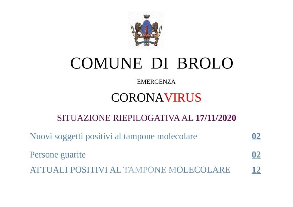 brolo – laccoto: confermati 12 positivi al molecolore e 4 test rapido. il punto sulle scuole brolesi