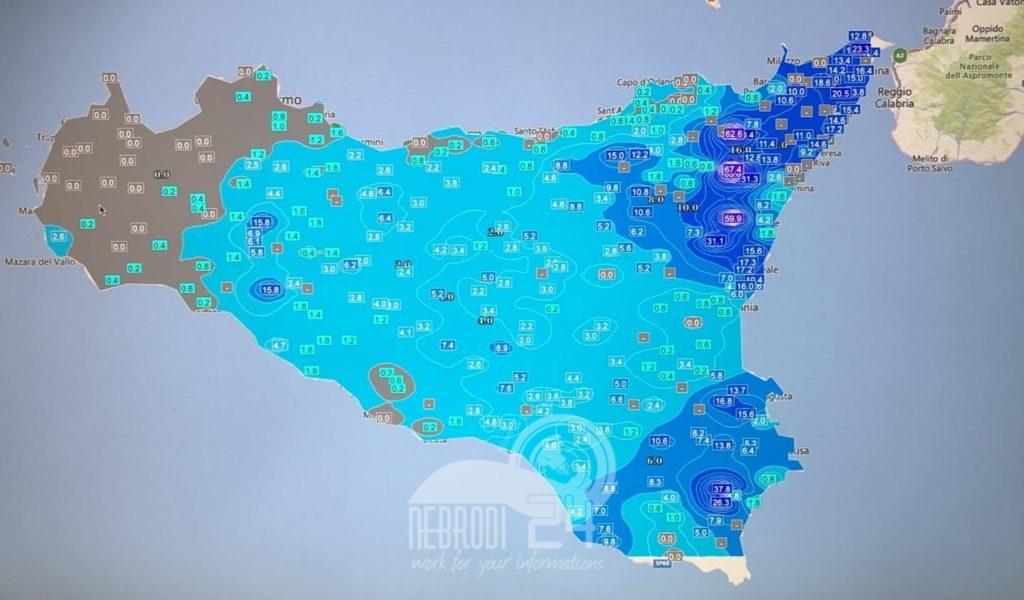 sicilia – protezione civile: rischio meteo-idrogeologico e idraulico