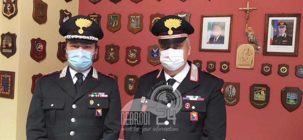 brolo – visita istituzionale al comune, del comandante della compagnia carabinieri, salvatore pascariello