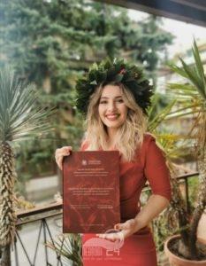 piraino  – laurea in lingue e civiltà orientali per valentina baratta