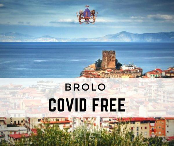 brolo – covid-19: da oggi il paese è covid free!